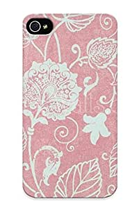 Aovsjq-7343-wojoahs New Iphone 4/4s Case Cover Casing(vintage Pink Flower)/ Appearance