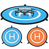 PGYTECH 75cm Landing Quadcopter Launch Pad Helicopter Mini Helipad Compatible for DJI Mavic 2 Pro Zoom, Mavic Air, Mavic Pro, Inspire Phantom Racing Drone
