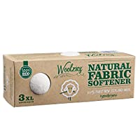 Woolzies Wool Dryer Balls Natural Fabric Softener, 3 Count