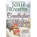 Candleglow and Mistletoe: A Sweet Holiday Romance Novella