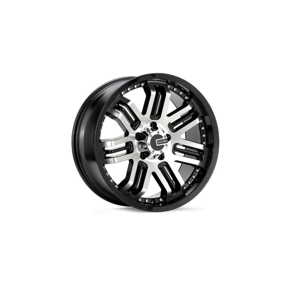 18x9 Mamba Type M3 (Black / Machined) Wheels/Rims 5x139.7 (MAMM3 8985B
