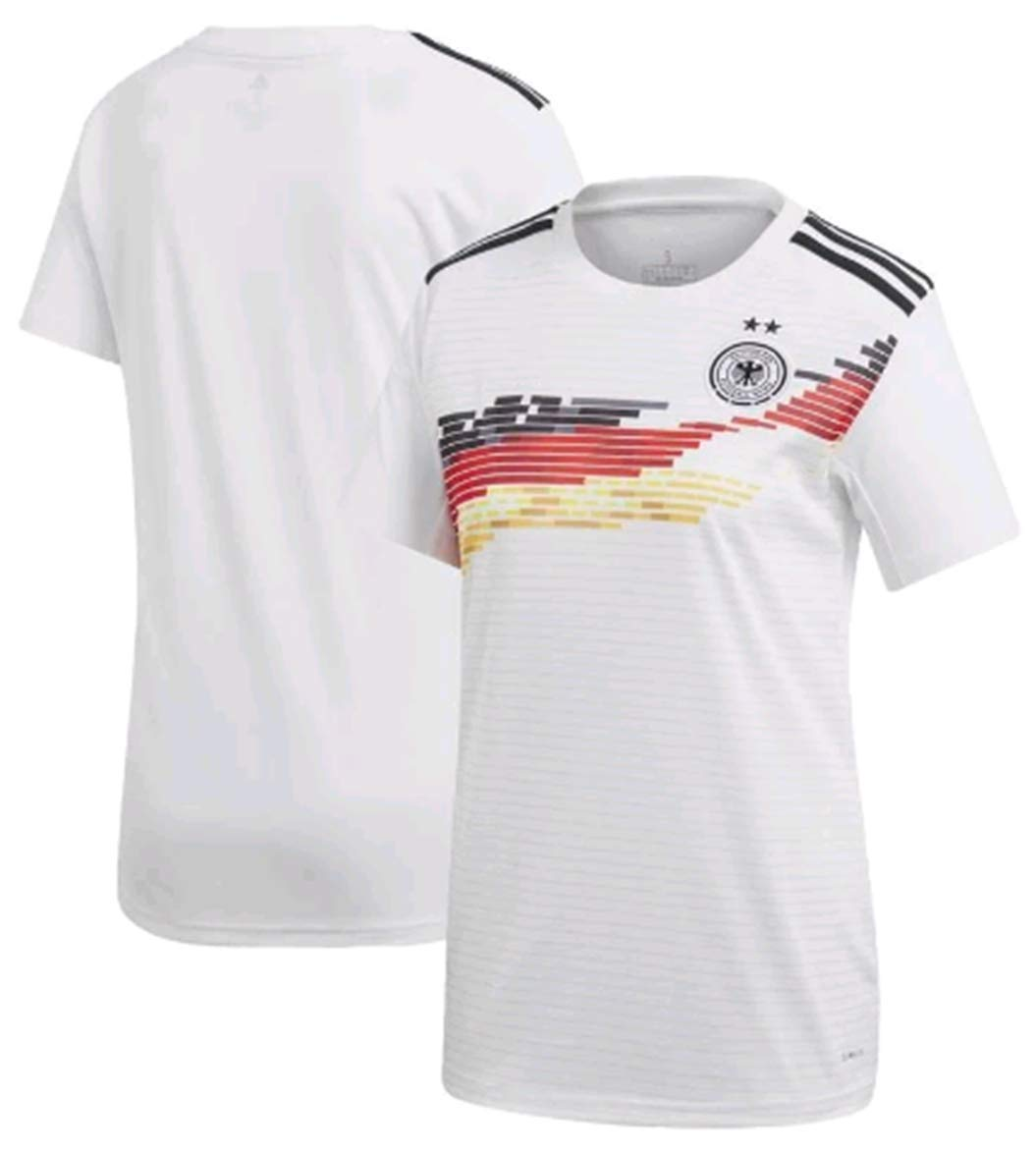 ZZXYSY 2019 Women's World Cup Germany Women's Home Soccer Jersey Colour White (M)