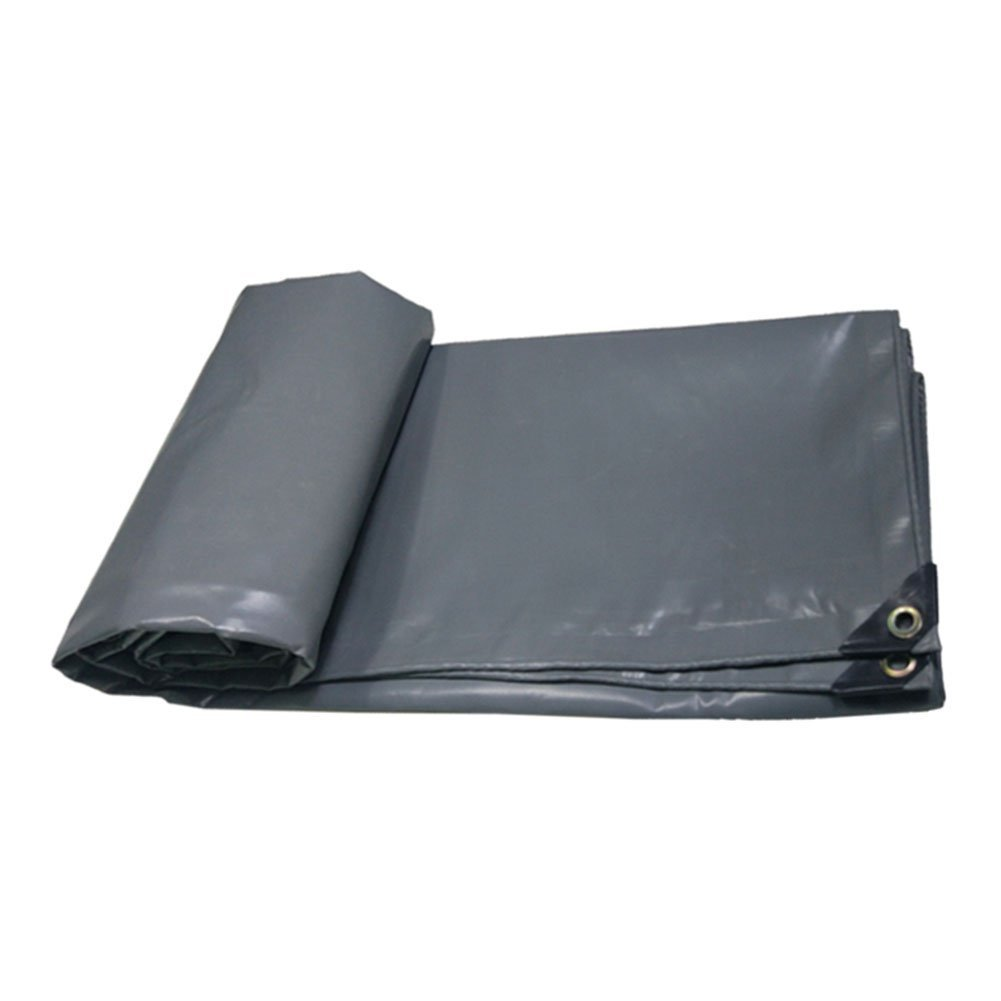 Yetta Zelt im Freien Plane flammhemmend regendicht Tuch LKW Schuppen Tuch Outdoor Schatten Zelt Tuch Hochtemperaturverschleißfestigkeit KorrosionsBesteändigkeit, grau (Farbe   grau, Größe   2x3M)