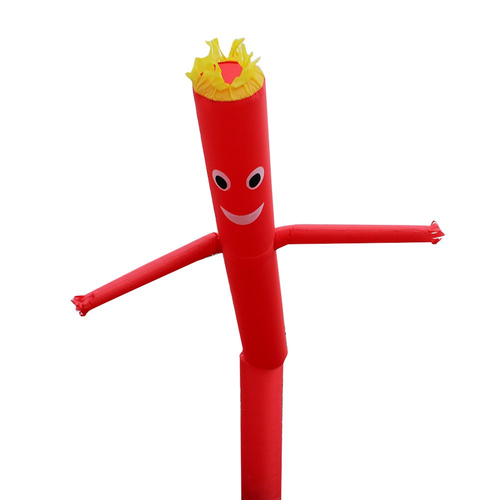 Air Dancer Sky Dancer Inflatable Tube Air Puppet Wind Flying 6M 20FT Red
