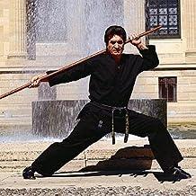 "Medium Weight Karate Uniform - Black (Elastic Drawstring) Size 0 (4'6""/85 lbs. Child Size 12-14) 1 packs"