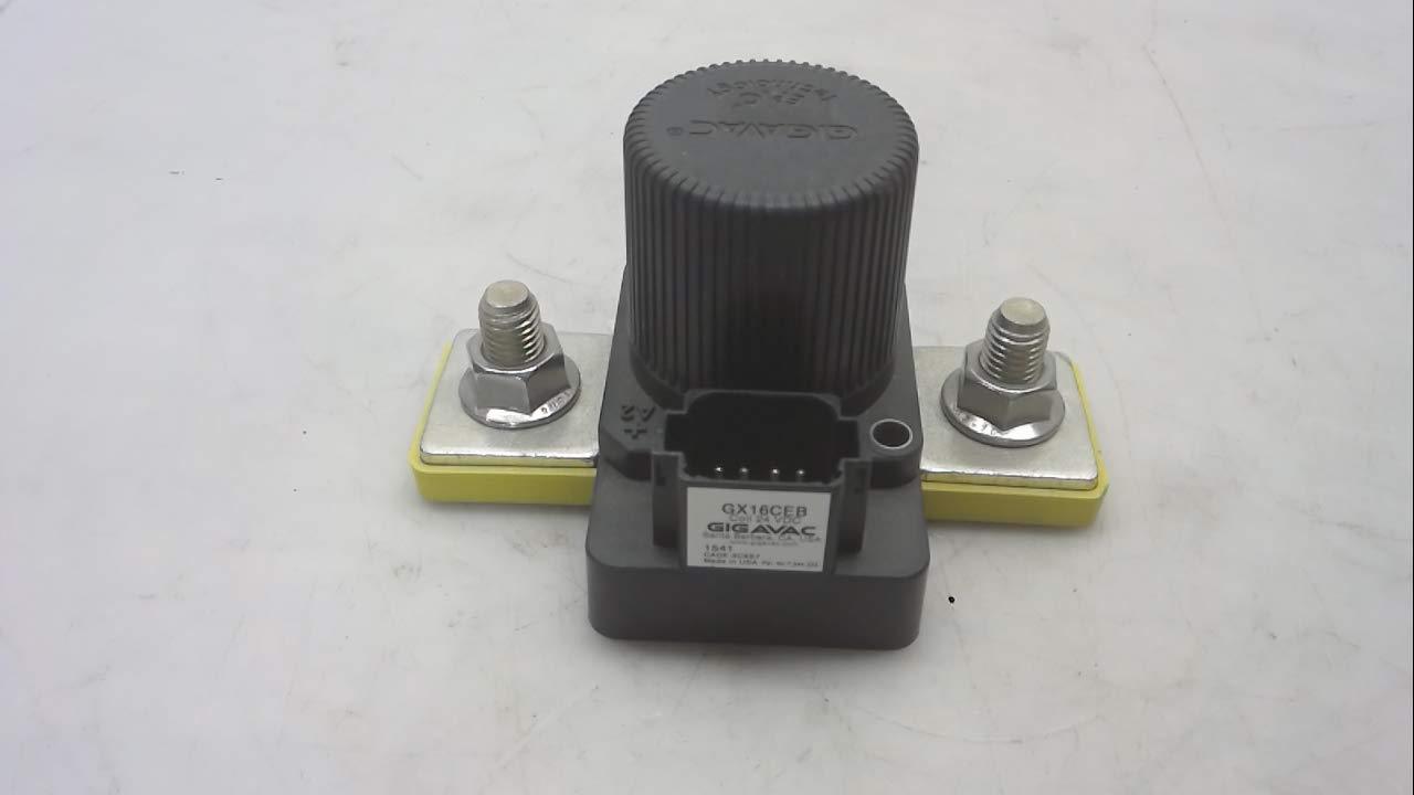 24 Vdc Gigavac Gx16ceb 600 Amp 8 Pin 800 Vdc Contactor Gx16ceb