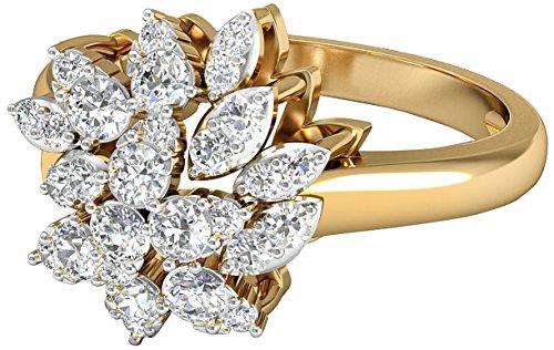 PC Jeweller The Iren 18KT Yellow Gold  amp; Diamond Rings