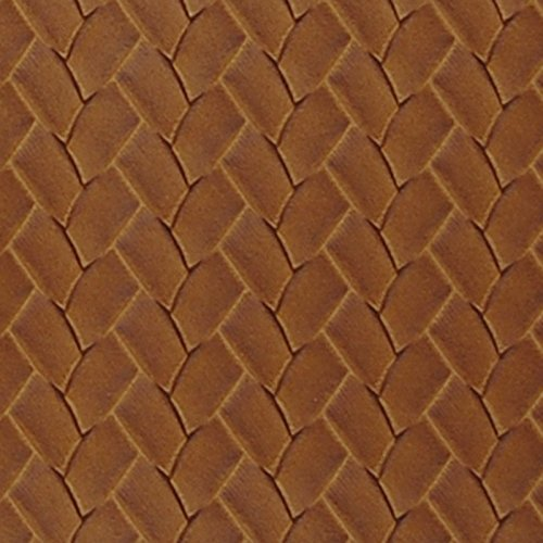 San Remo Cognac Brown Vinyl Upholstery Fabric by the yard (San Remo Sofa)