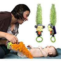 Yoee Baby Monkey - A Developmental Baby Toy That Helps Promote Interaction, C...