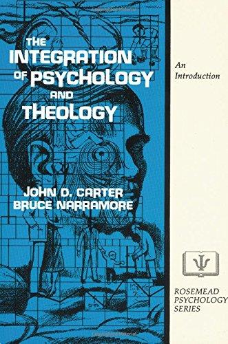 integration of psychology theology essay Free essay: 4-mat review anita cox liberty university coun 506 integration of psychology and theology september 7, 2012 integrative approaches to psychology.