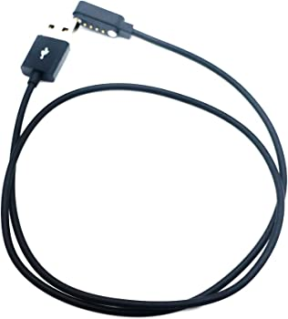 SMAWATCH SMA-Round SMA-Q2 SmartWatch cable de carga 4Pin USB ...