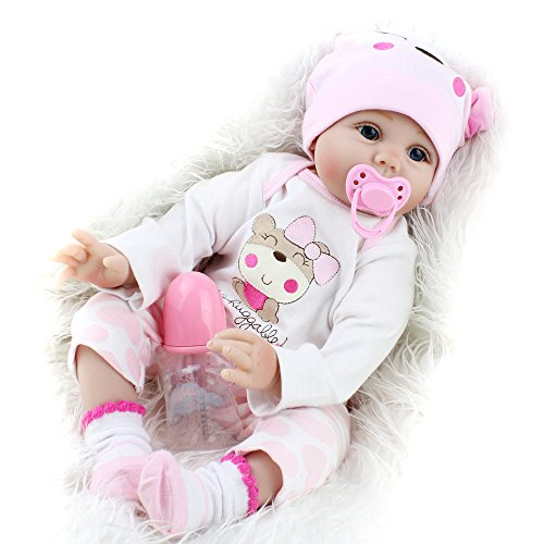 Reborn Baby Dolls Girls Silicone Babies Looking Real