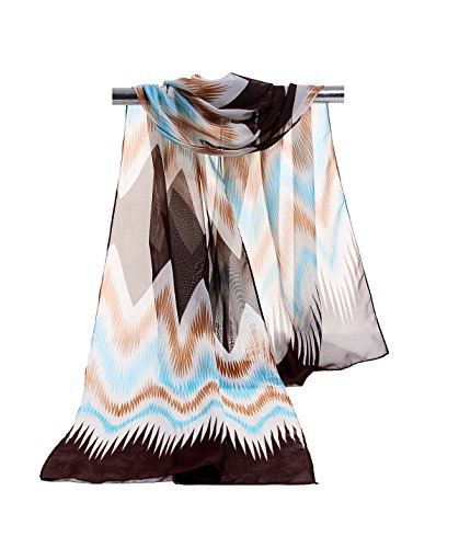 E Clover Lightweight Chiffon Sheer Scarves product image