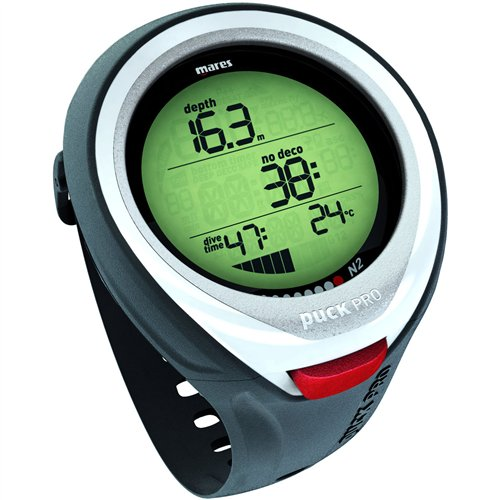 Mares Puck Pro Air / Nitrox Wrist Computer White by Mares