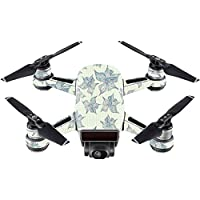 Skin For DJI Spark Mini Drone – 3d Flowers | MightySkins Protective, Durable, and Unique Vinyl Decal wrap cover | Easy To Apply, Remove, and Change Styles | Made in the USA