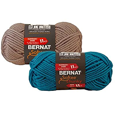 Bernat Softee Chunky Solid Yarn from Bernat