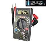 DIGITAL LCD MULTI METER BATTERY TESTER - Mighty Max Battery brand product