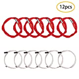 WAM Direct 6Pcs Thermistor Ntc 3950 100K Temperature Sensor Thermistor and 6Pcs 12V 40W 620 Ceramic Cartridge Heater for 3D Printer Creality CR-10 CR-10S S4 S5 Makerbot RepRap Prusa i3