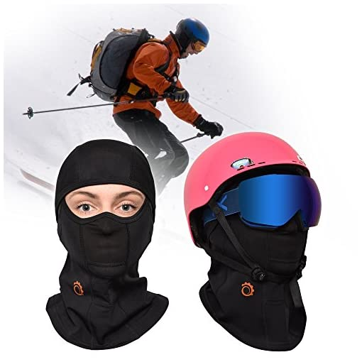 Best Full Face Mask Balaclava by GearTOP Premium Ski Mask and Neck Warmer for