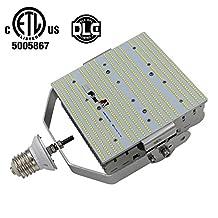 (Pack of 8) 400 Watt HPS MH Parking Lot Pole Lights Fixture Retrofit 120W LED Retrofit Kits E39 Mogul Base 6500K Daylight White 100-277V