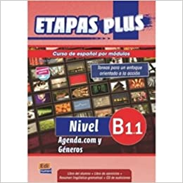 Amazon.com: Etapas Plus B1.1 / Stages Plus B1.1: Agenda.com ...