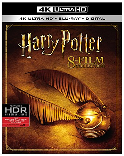4K Blu-ray : Harry Potter Collection (With Blu-Ray, 4K Mastering, Boxed Set, Slipsleeve Packaging, Digitally Mastered in HD)