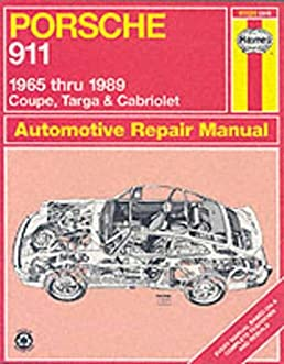 porsche 911 automotive repair manual 1965 to 1989 coupe targa rh amazon com 1984 Porsche 944 Wiring-Diagram Porsche Wiring-Diagram 911 1973