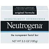 Neutrogena The Transparent Facial Bar Original Formula 3.5 Ounce (Value Pack of 8)