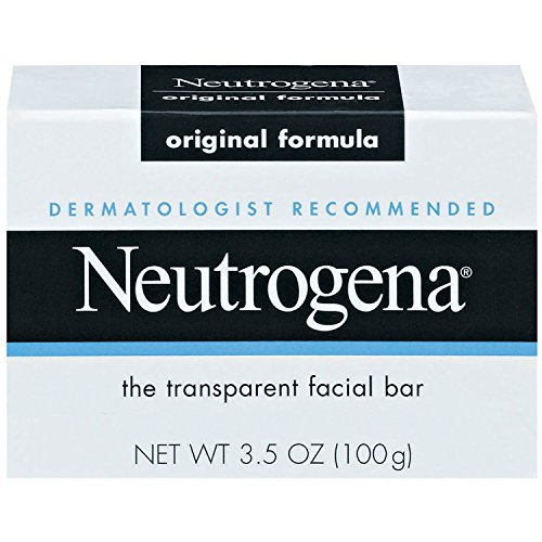 (Neutrogena The Transparent Facial Bar Original Formula 3.5 Ounce (Value Pack of 8))