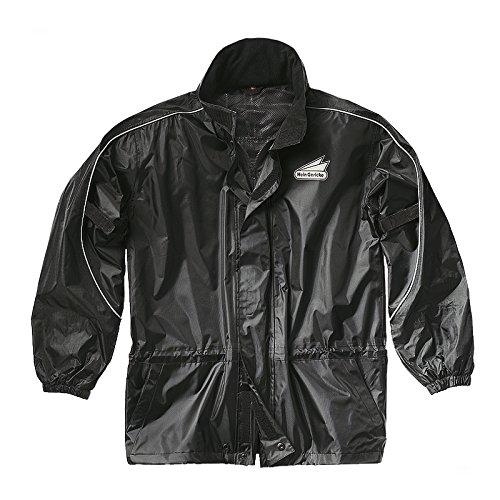 Hein Gericke Blizzard Regenjacke schwarz L - Motorrad Regenbekleidung