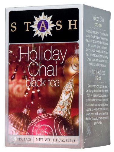 Special Reserve Rum (Stash Tea Holiday Chai Tea, 18 Count Tea Bags in Foil (Pack of 6))