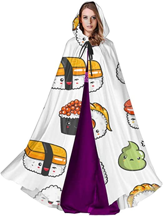 Monican Japanese Sushi Japan Food Cloak Cape para niños Niña Cloak ...
