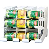 FIFO Can Tracker | Stores 54 cans | Rotates First in First Out | Canned Goods Organizer for Cupboard, Pantry and Cabinet…