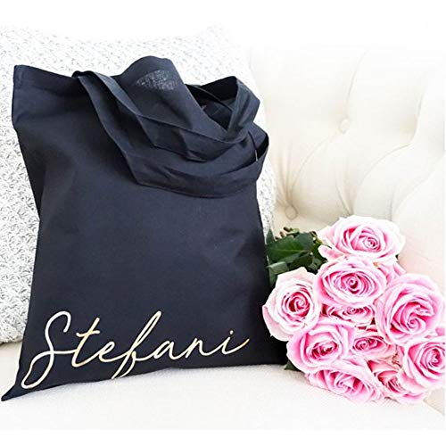 Best quality Bridesmaid Gift, Bridesmaid Tote, Personalized Gift, Wedding Party Gift, Bridal Party Bag,Wedding Totes, Bridal Totes, Bridal Party Gift]()