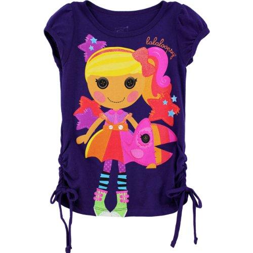 Lalaloopsy Girls Purple T-Shirt (5) ()