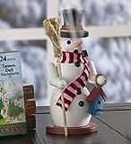 Plow & Hearth Smoking Incense Holiday Snowman
