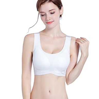 42ade092012 Full Coverage Wireless Yoga Bra Daily Seamless Bra Camisole Sleeping Bra  Zero Feel
