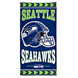 "NFL Seattle Seahawks Fiber Beach Towel, 30"" x 60"""