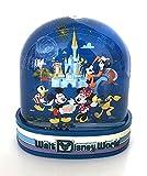 Walt Disney World Mickey Mouse Four Parks Passport Plastic Snowglobe