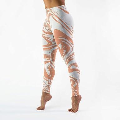 Mallas cómodas para Mujer, Pantalones de Yoga Delgados ...