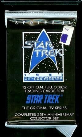 1991 Star Trek 25th Anniversary Series II Trading Card Pack - 12 cards per pack