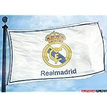 Real Madrid Flag Banner 3x5 ft White