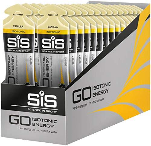 SIS GO Isotonic Energy Gel: Vanilla, 60ml, Box of 30
