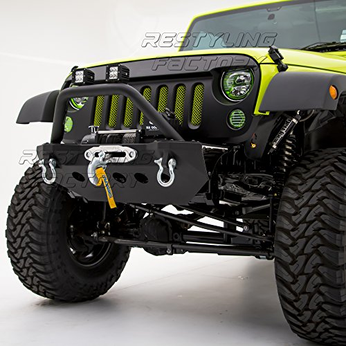 Restyling Factory 07-16 Jeep Wrangler JK Stubby Rock Crawler Front