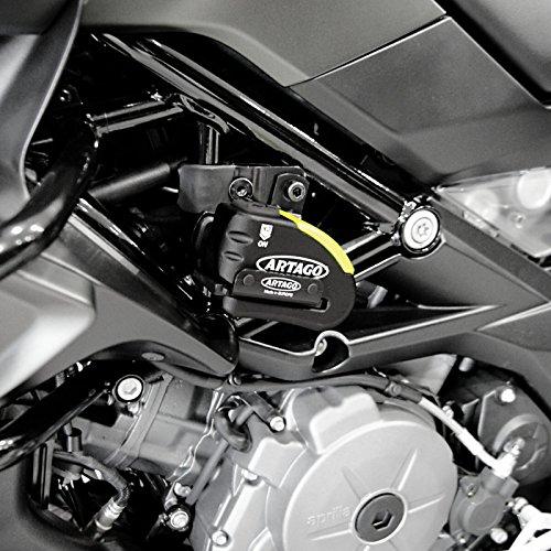 Disc brake lock Kawasaki Z 650 2017 Artago 30x14 + Mounting kit K402