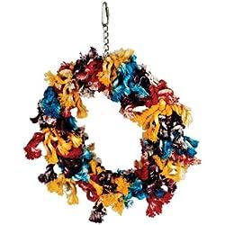 Paradise Toys Cotton Preening Ring, Medium, 12 x 8 inches