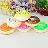 Great Deal 1 Piece Squishy Kawaii Donuts Phone Charm Toy