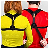 VOELUX Posture Corrector Clavicle Support Brace For Men & Women Upper Back