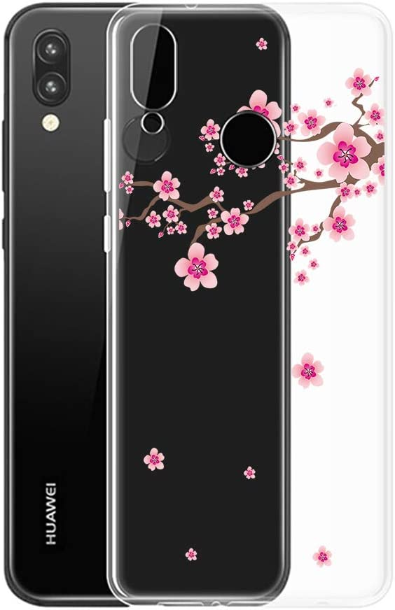 Coque Huawei P20 Lite, Crystal Transparent Quiet Girl Pattern, 4 ...