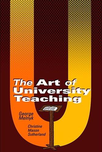 Download The Art of University Teaching pdf